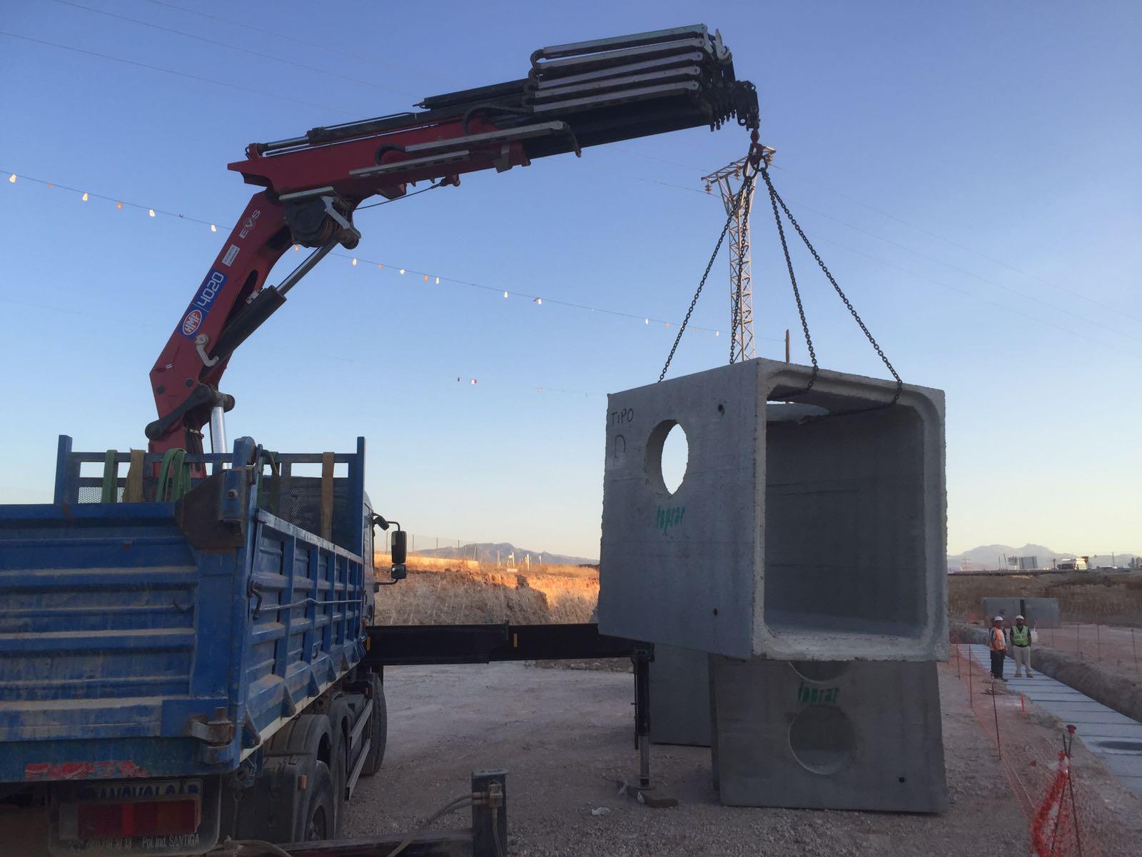 carga y descarga en Mallorca
